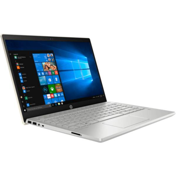 HP Pavilion Notebook 8th Gen, 14 Inch FHD, Intel Core i7-8550U, Upto 4GHz, 8GB RAM, 1TB HDD, Win 10, Gold (14-CE0001)