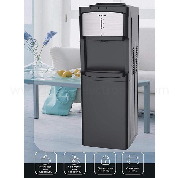 Crownline Floor Standing Water Dispenser17 Ltrs (WD-201)