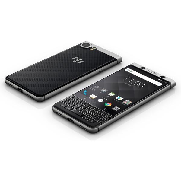 Blackberry Keyone Smartphone, Silver (AX-BB-KEYONE-SL)