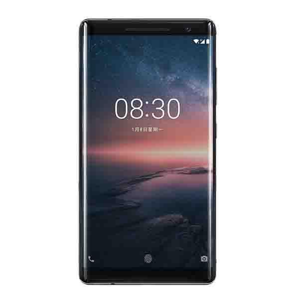 Nokia 8 Sirocco Smartphone LTE (NOKIA8SIRW-B  )