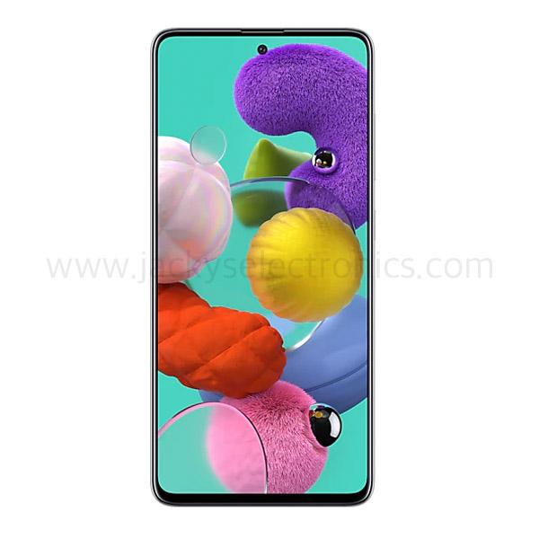 Samsung Galaxy A51, 128GB, 6GB RAM,  WHITE (SMA515FW-128GBW)