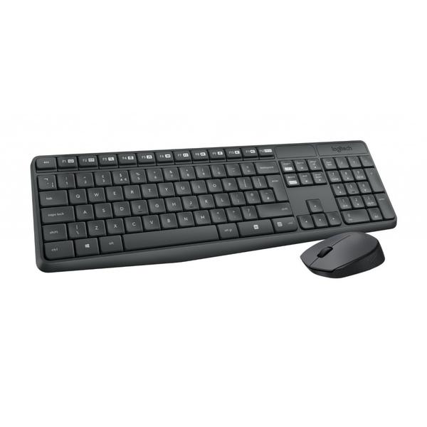 dfb40740871 Logitech M235 wireless Keyboard and Mouse (920-007931-EC)