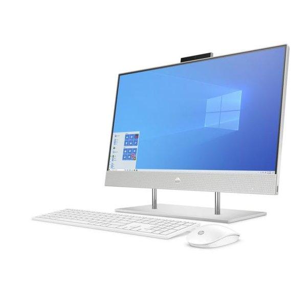 HP All-in-One Desktop Core i5-10th Gen Ram 8GB-1TB HDD+256GB SSD Graphics  2GB Windows 10 Screen 24 inch Silver 24-DP0001