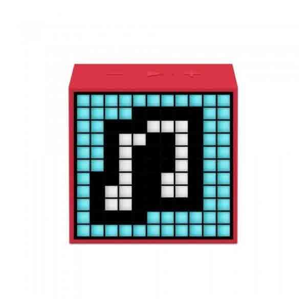 DIVOOM PORTABLE SPEAKER TIMEBOX MINI-RED 840500101322