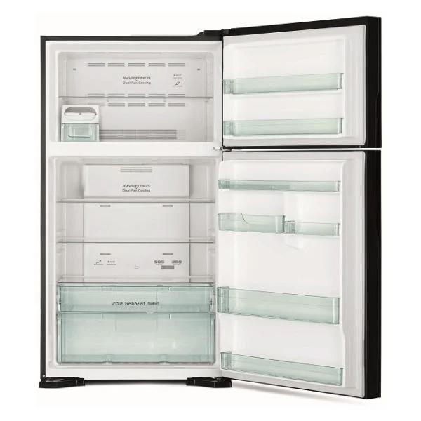 Hitachi Top Mount Refrigerator 710 Litres RVG710PUK7GBK