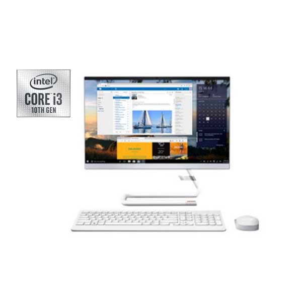 "Lenovo Ideacentre A340-F7AX, Intel Core i3-10110U, 4GB Ram, 1TB HDD, Integrated Intel UHD Graphics, 21.5"" FHD Win 10 (F0EB00F7AX)"