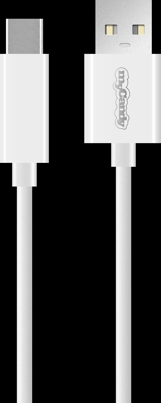 MYCANDY USB CABLE 3.0 TYPE C WHITE