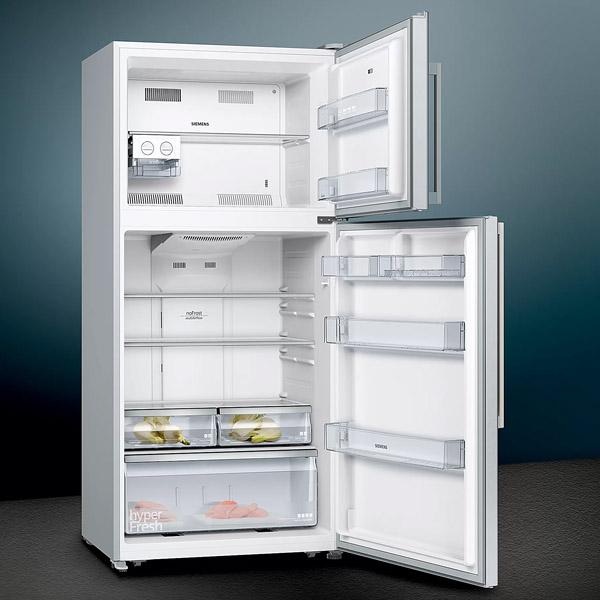 Siemens iQ300 526 Ltrs free-standing fridge with top freezer 175.6 x 79 cm Inox-easyclean (KD65NVI20M)