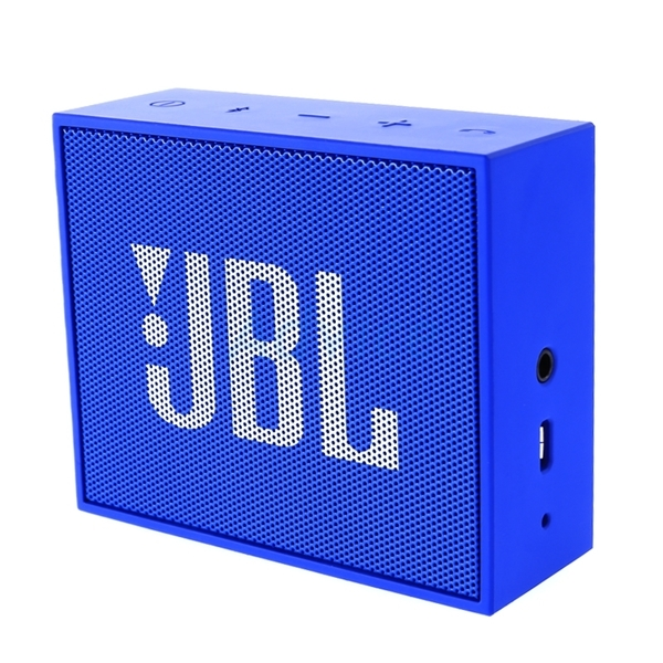 JBL GO Portable Bluetooth Speaker - Blue (JBLGOBLUE)