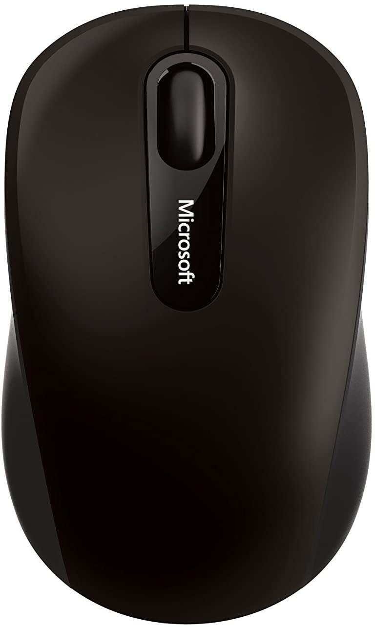Microsoft PN7-00009 Bluetooth 4.0 4-Way Scroll Wheel Blue Track Technology Mouse - Black
