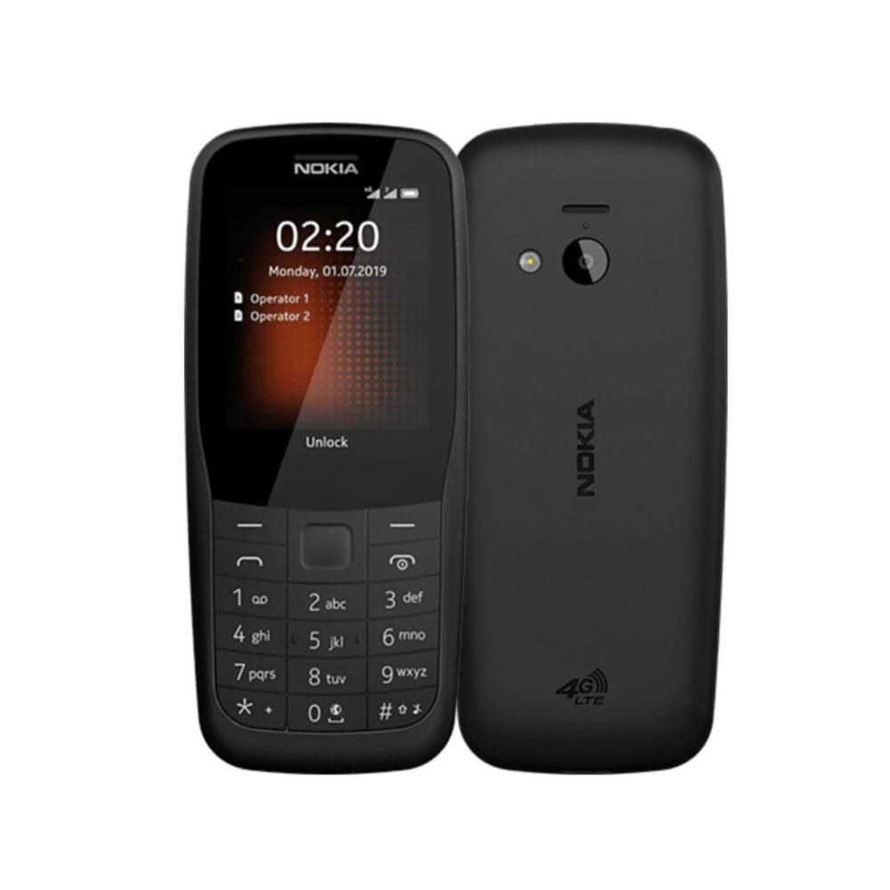 Nokia 220 4G Dual Sim Mobile Phone Black TA-1155