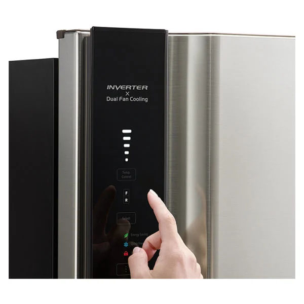Hitachi Top Mount Refrigerator 710 Litres (RV710PUK7KBBK)