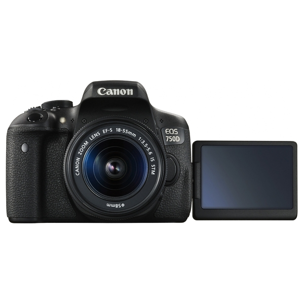 Canon EOS750D with IS 18-55mm Lens (EOS750DKIT)