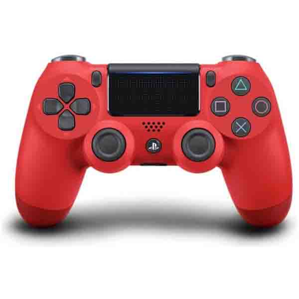 SONY PS4 DUAL SHOCK CONTROLLER, V2,RED (CUHZCT2ERED)