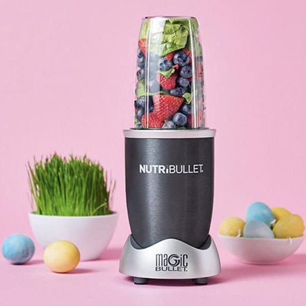 Nutribullet 6-Piece Magic Bullet Blender Set 600W Grey/Clear (NBR-0612)