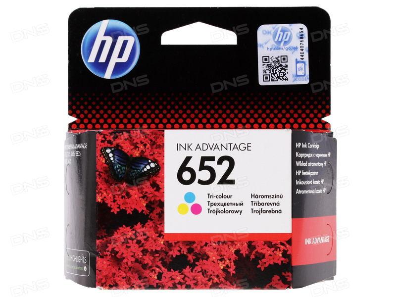 HP INK CARTRIDGE / 652 TRI COLOR (F6V24AE)