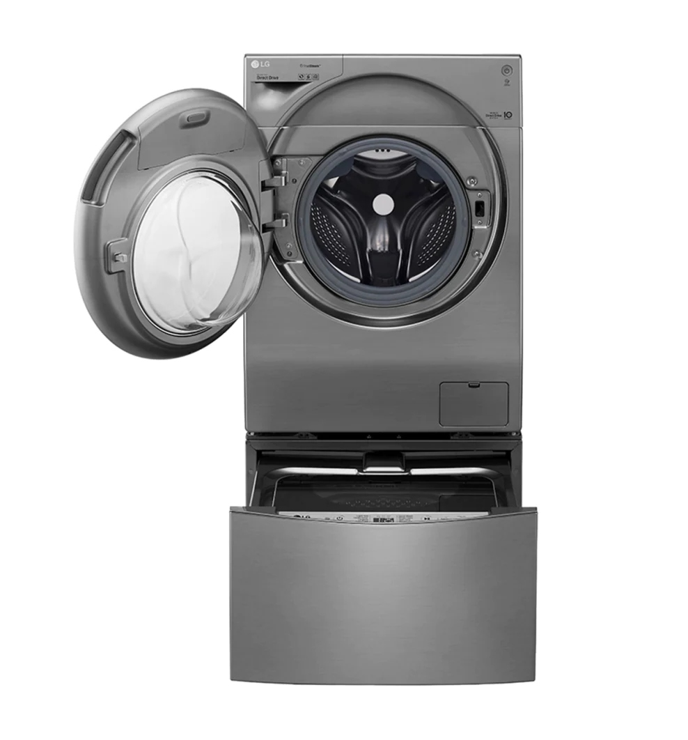 LG TWIN Wash Washer & Dryer 12 / 7 Kg 6 Motion Direct Drive True Steam FH4G1JCHP6N / F8K5XNK4