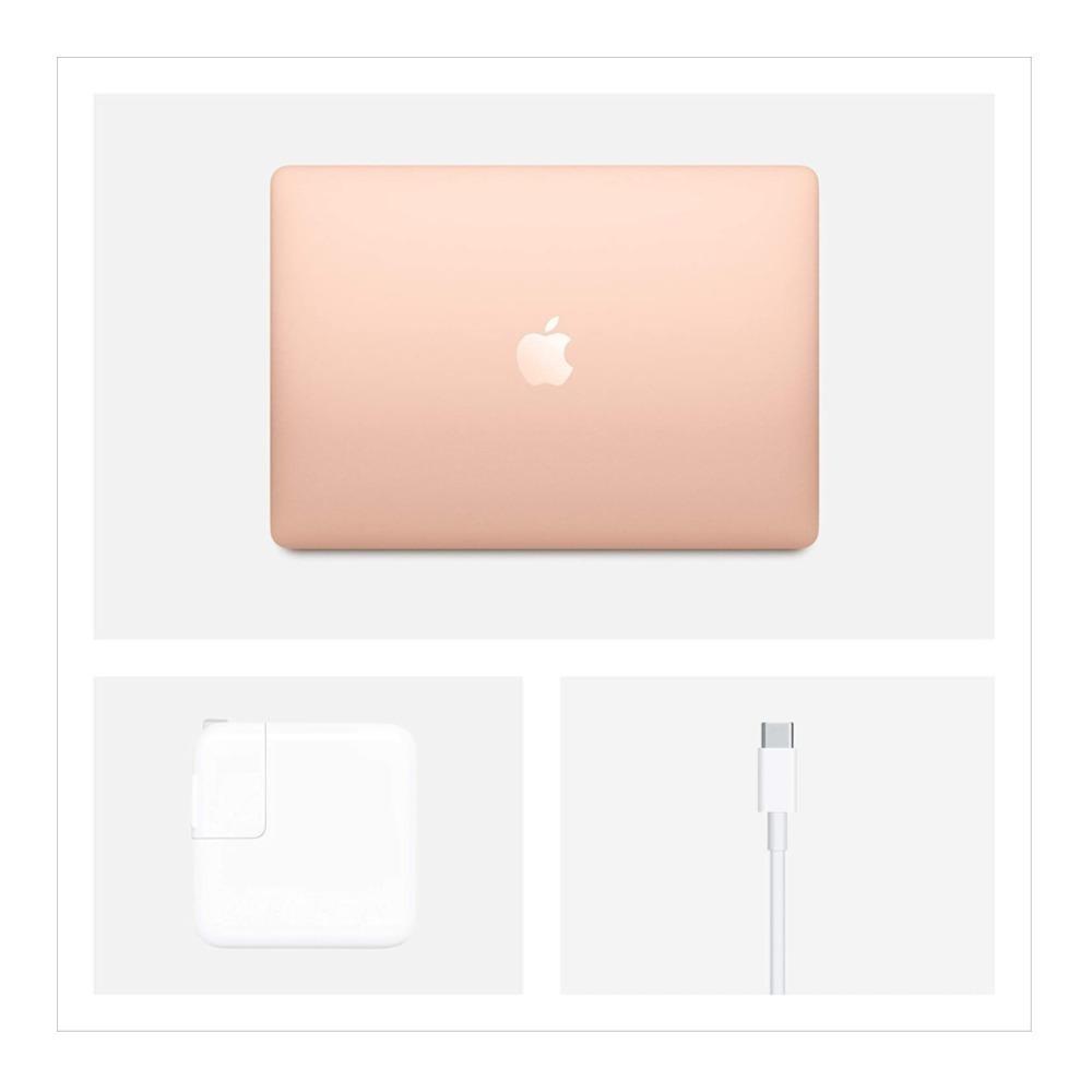 "MacBook Air 13"" M1 chip 512GB SSD 8-core CPU and 7-core GPU 8GB RAM Arabic / English Keyboard Gold (MGNE3AB/A)"