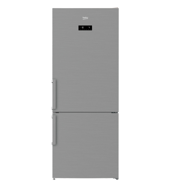 Beko 520 Liter Bottom Freezer Refrıgerator, No Frost, Dual Cooling Technology, Made in Turkey (RCNE520E21PX)
