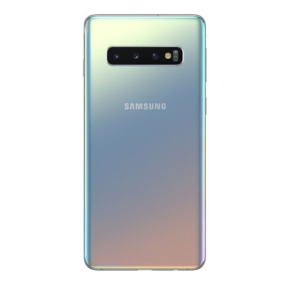Samsung Galaxy S10 Dual SIM Prism Silver 128GB 8GB RAM 4G LTE (SMG973FW-128GBSL)