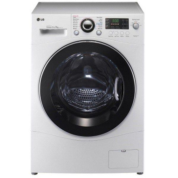 LG F1296CDP23 Front Load Washing Machine - White, 6kg (F1296CDP23)