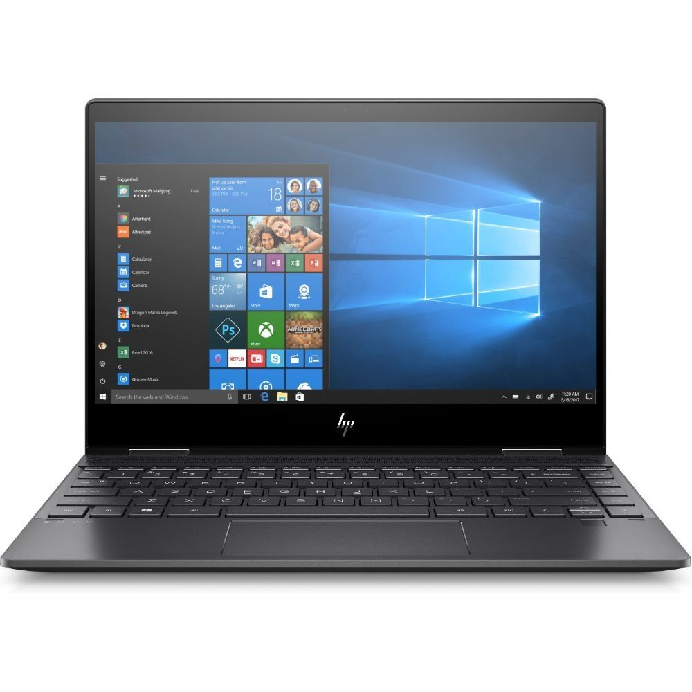 HP ENVY X360 13-AR0008NE Laptop – Ryzen 7 2.3GHz 16GB 1TB Shared Win10 13.3inch FHD Nightfall Black