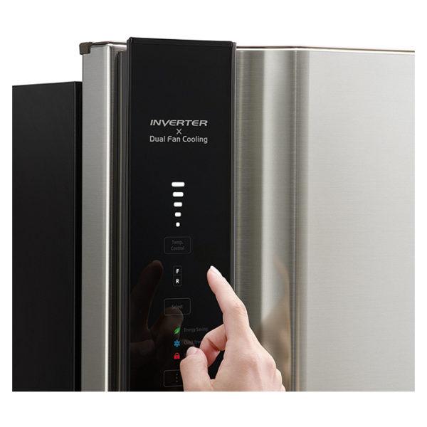 Hitachi Top Mount Refrigerator 650 Litres (RV650PUK7KBSL)