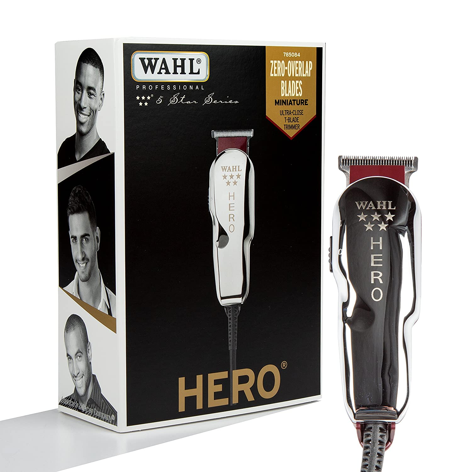 Wahl Professional 5-Star Hero Corded T Blade Trimmer 8991-727