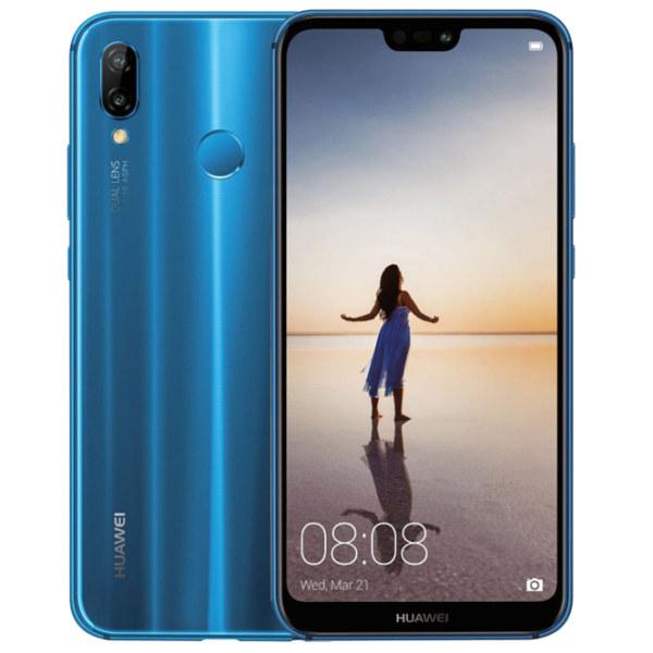 Huawei Nova 3e Smartphone - Blue  (NOVA3EW-BL)