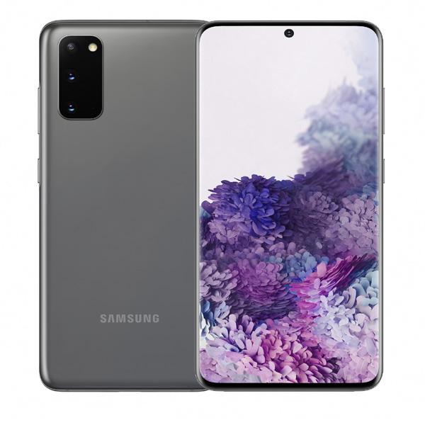 "SAMSUNG MOBILE PHONE S20 , OCTA CORE , 6.2"" 128GB LTE, GRAY (SMG980W-128GBGY)"