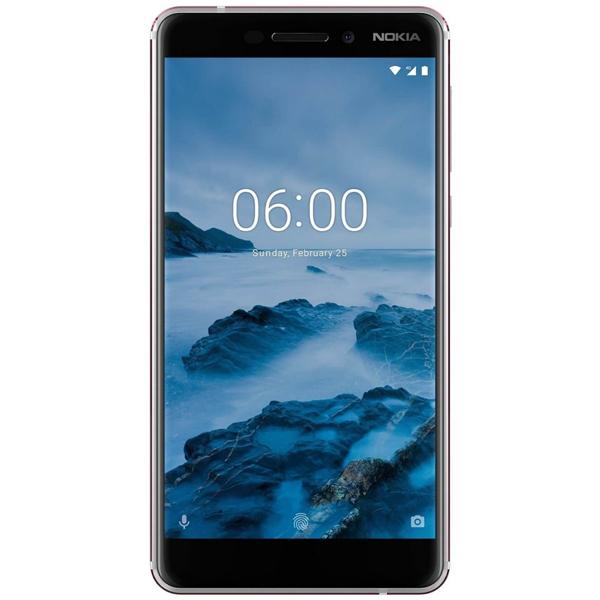 Nokia 6.1 TA-1043 Dual SIM - 32GB, 3GB RAM, 4G LTE, White (NOKIA6-1W-W)