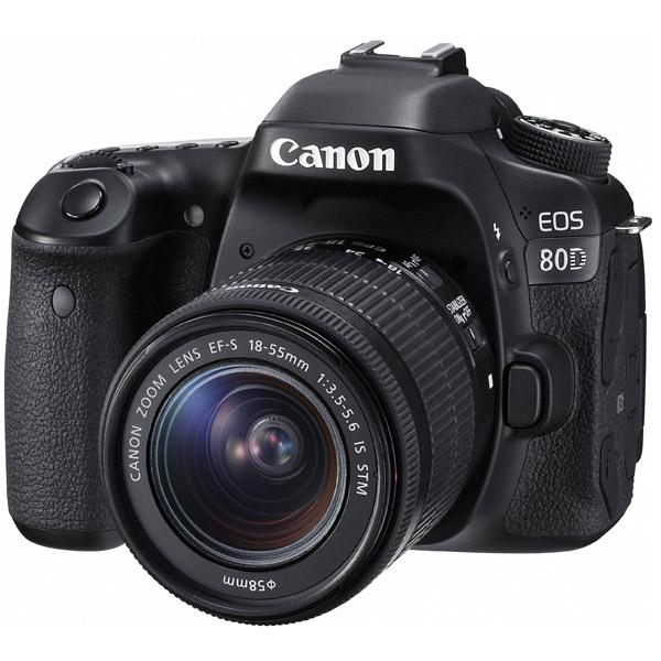 Canon EOS 80D DSLR Camera 18-55mm IS STM (EOS80D-EC)