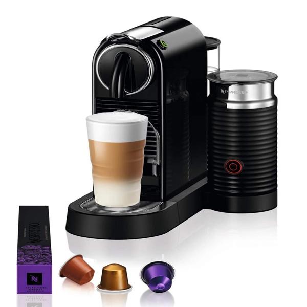 Nespresso  Citiz & Milk D123 Black Coffee Machine (D123-ME-BK-NE)