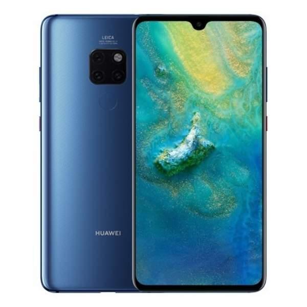 Huawei Mate 20 Smartphone, 128GB, Blue (MATE20-128GBBL-EC)