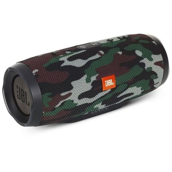 JBL Charge 3 Squad Portable Bluetooth Wireless Speaker - Camouflage (JBLCHARGE3SQUAD)