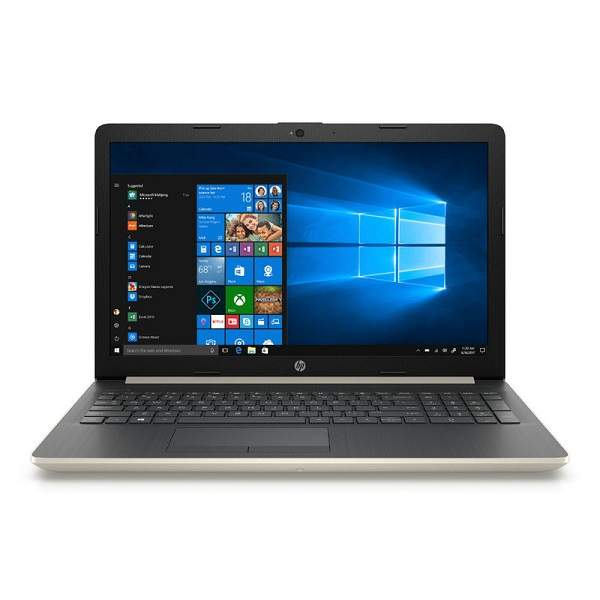 HP Notebook 8th Gen, 15.6 Inch FHD, Intel Core i7-8550U, Upto 4GHz, 16GB RAM, 2TB HDD, Win 10, Pale Gold (15-DA0014)