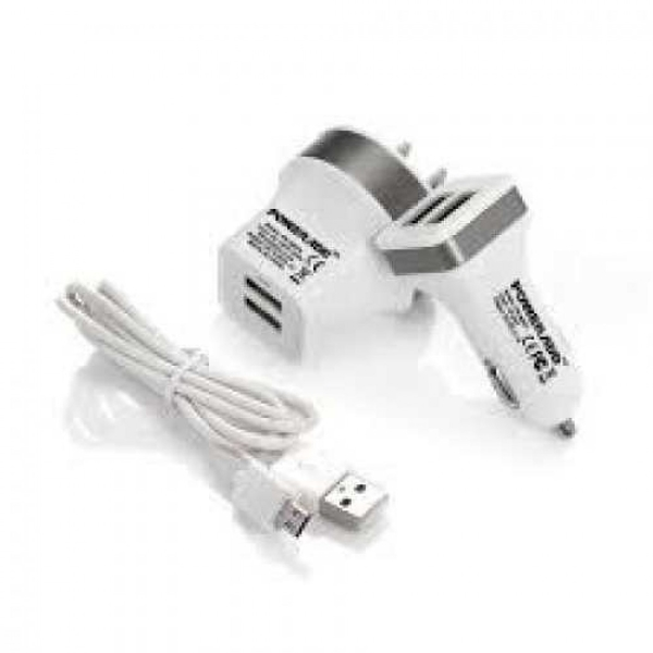 My Candy Fast Travel Charger Micro USB CBL 10W (ACMYC10WCGRUWHT)