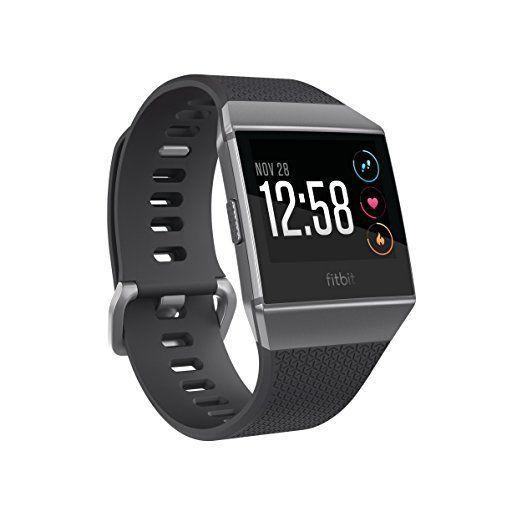 Fitbit Smart Watch Ionic Charcoal/Smoke Gray, EMEA FB503GYBK-EU