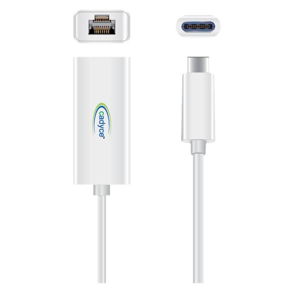 CADYCE USB-C TO GIGABIT ETHERNET ADAPTER (CAYUSBC3GE)