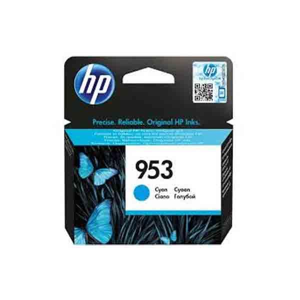 HP 953 Cyan Original Ink Cartridge F6U12AE