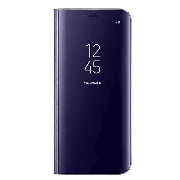 Samsung Galaxy S8 Clear View Standing Cover Violet (EF-ZG950CVEGWW)