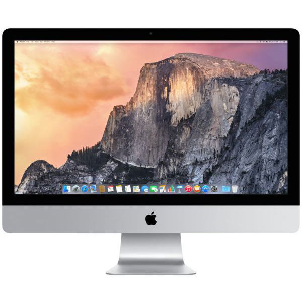 "APPLE IMAC 27"" RETINA PROC QUAD CORE I5 3.5GHz (5K),RAM 8GB ,HDD 1TB, GRAPHICS AMD M290X, ARABIC ENGLISH KEYBOARD(MF886AE/A)"