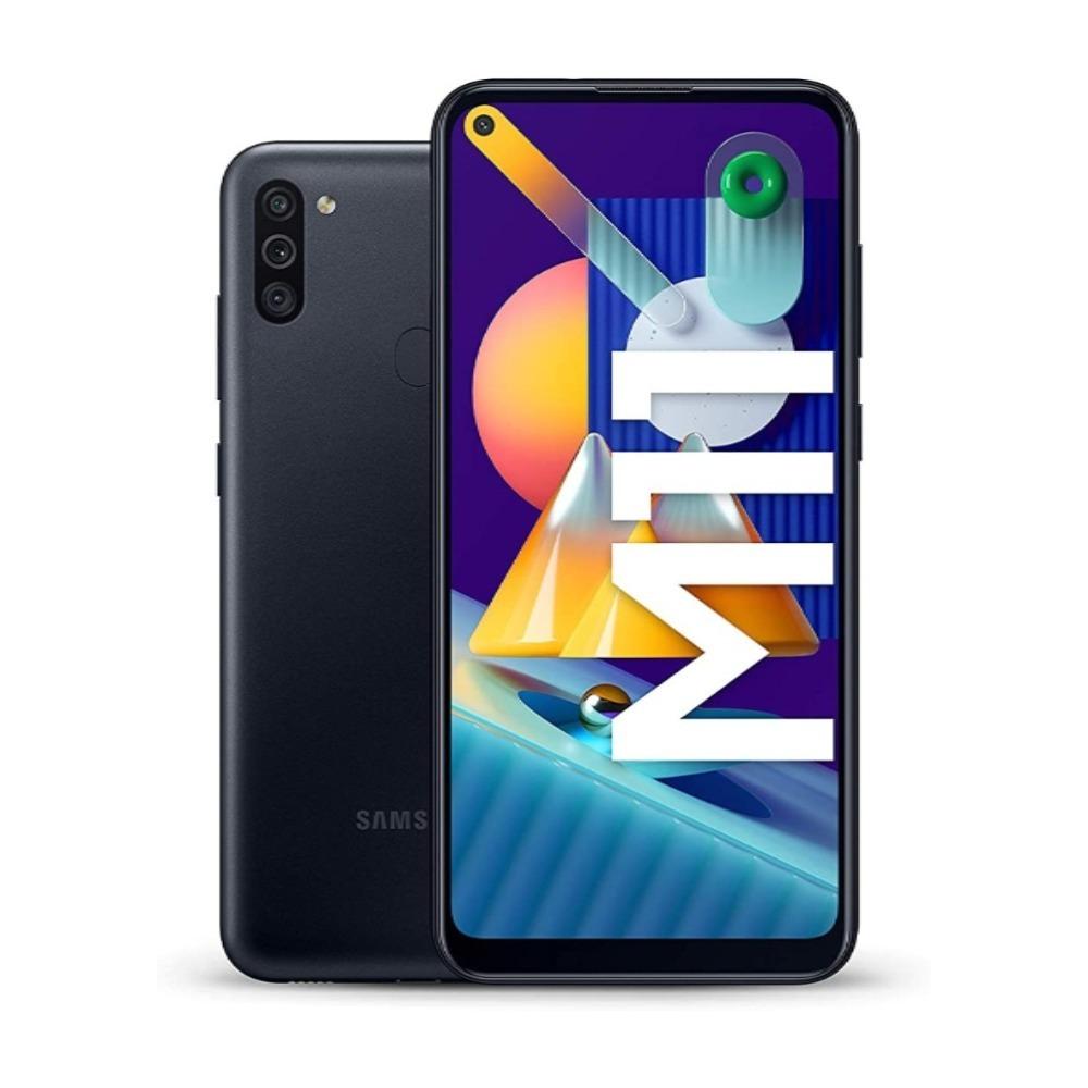Samsung Galaxy M11 Dual SIM 32GB 3GB RAM 4G LTE (UAE Version) - Black SM-M115FZKDXSG