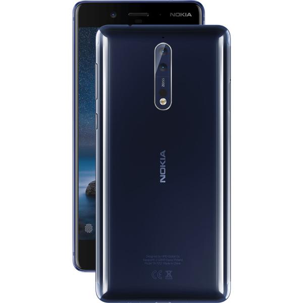 Nokia 8 Smartphone - Blue  (NOKIA8W-BL)