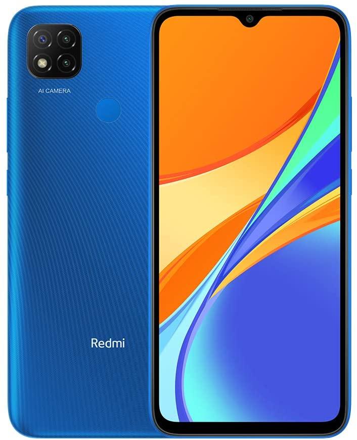 """XIAOMI REDMI 9C 6.53"""" 64GB Dual SIM 3GB RAM BLUE MI9C-64GBBL"""
