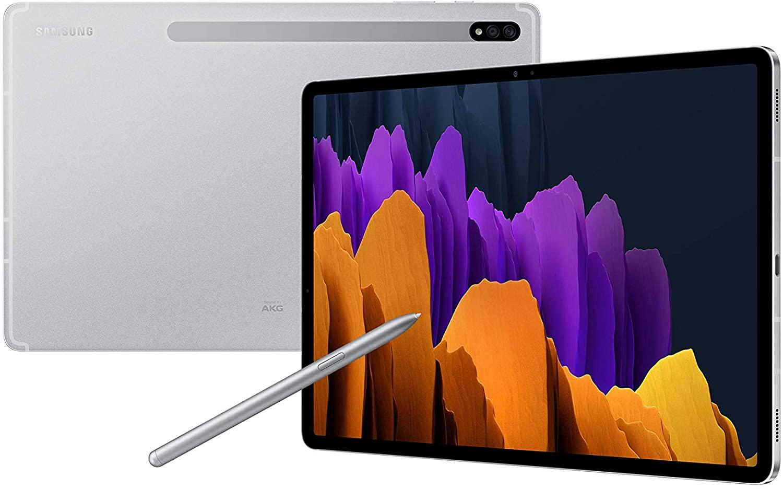 Samsung Galaxy Tab S7+ WiFi 256GB 8GB RAM SD Card Mystic Silver SM-T970