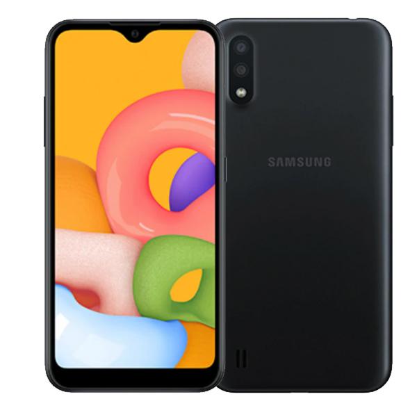 """Samsung Galaxy A01 5.7"""", Dual Sim, 4G LTE, 2GB , 16GB Smartphone Black (SMA015F-16GBB)"""