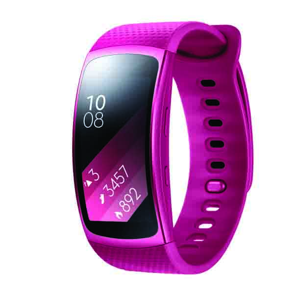 Samsung Gear Fit2 Small, Pink (SM-R3600ZINXSG)