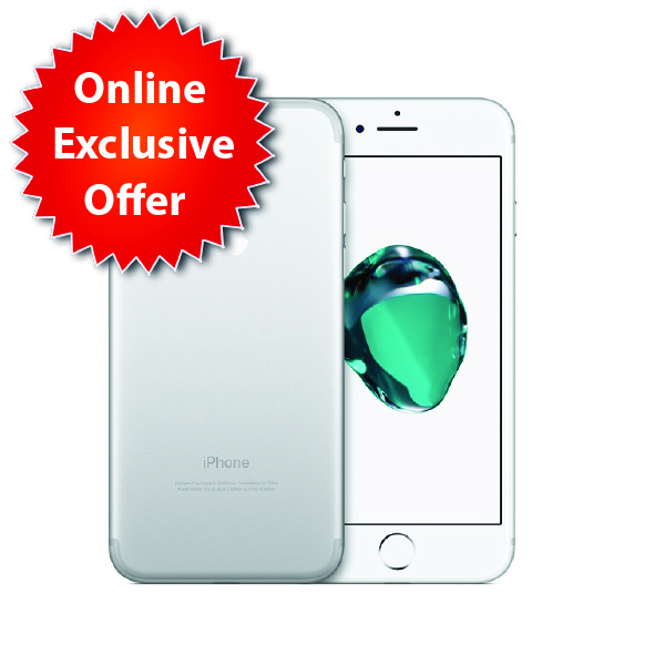 Apple iPhone 7  32GB Silver (IP7-32GBE-SL-EC)