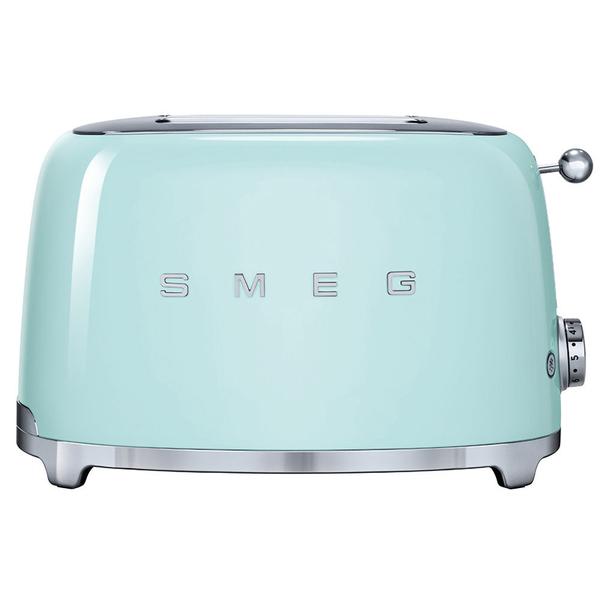 Smeg Retro Pastel Green 2 Slice Toaster (TSF01PGUK)